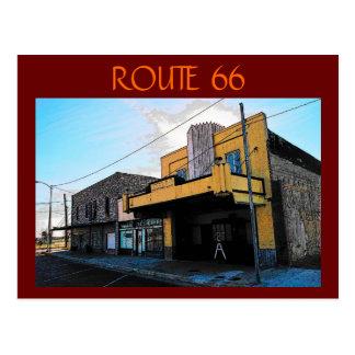 Postal de la ruta 66 McLean