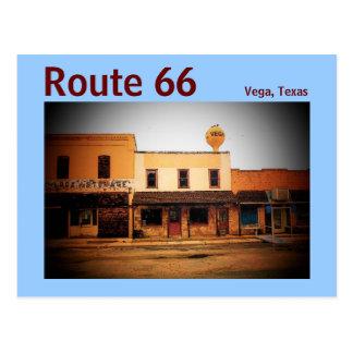 Postal de la ruta 66 (Vega)