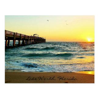 Postal de la salida del sol de la Florida