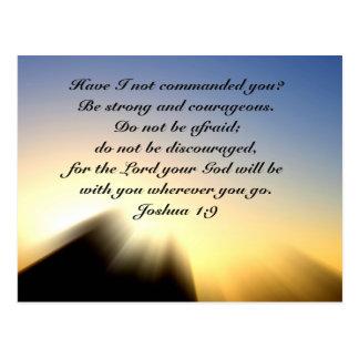 Postal de la salida del sol del 1:9 de Joshua del