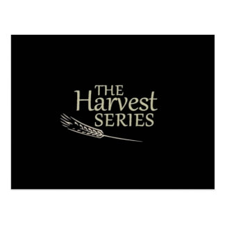 Postal de la serie de la cosecha