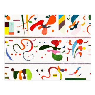 Postal de la sucesión de Kandinsky