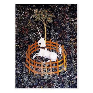 Postal de la tapicería #7 del unicornio