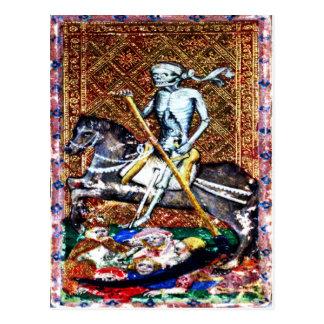 Postal de la tarjeta de la muerte