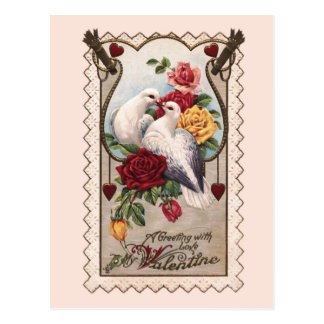 Postal de la tarjeta del día de San Valentín de lo