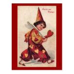 Postal de la tarjeta del día de San Valentín de Pi