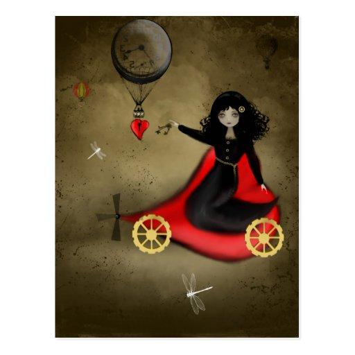 Postal de la tarjeta del día de San Valentín de St