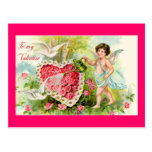 Postal de la tarjeta del día de San Valentín del C