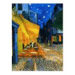 Postal de la terraza de Van Gogh Café