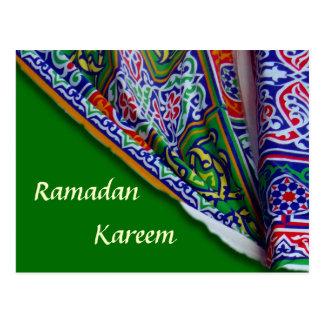 Postal de la tienda del Ramadán