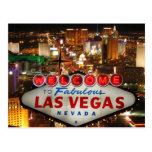 Postal de la tira de Las Vegas