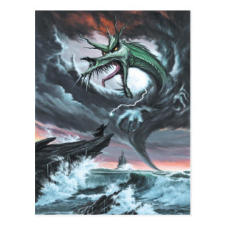 Postal de la tormenta del dragón