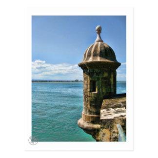 Postal de la torre del EL Morro