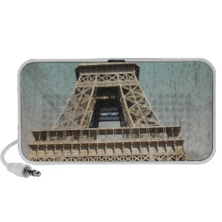 Postal de la torre Eiffel de París Altavoces De Viajar