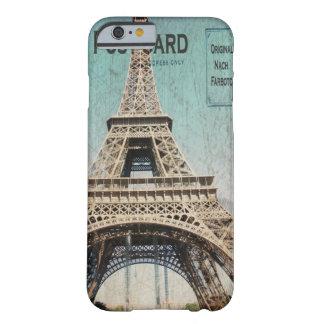 postal de la torre Eiffel del caso del iPhone 6 de