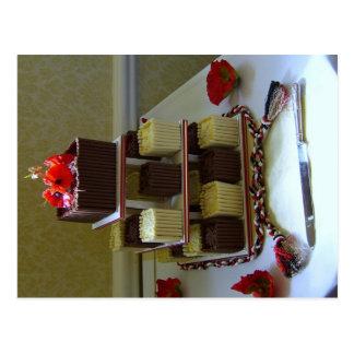 Postal de la torta de Handfasting