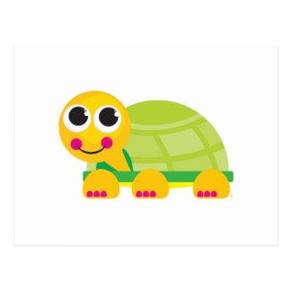 Postal de la tortuga