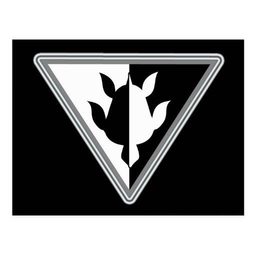 Postal de la tortuga del triángulo
