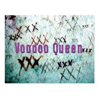 Postal de la tumba de la reina New Orleans del vud