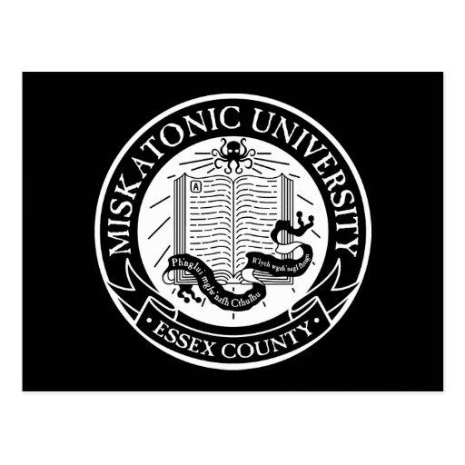 Postal de la universidad de Miskatonic