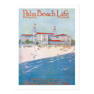Postal de la vida 11 del Palm Beach