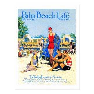 Postal de la vida 13 del Palm Beach