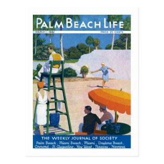 Postal de la vida 14 del Palm Beach