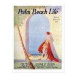 Postal de la vida #18 del Palm Beach