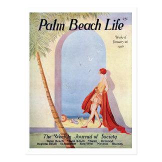 Postal de la vida 18 del Palm Beach