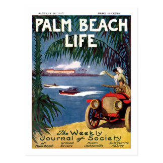 Postal de la vida #19 del Palm Beach