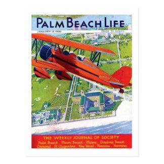 Postal de la vida 1 del Palm Beach