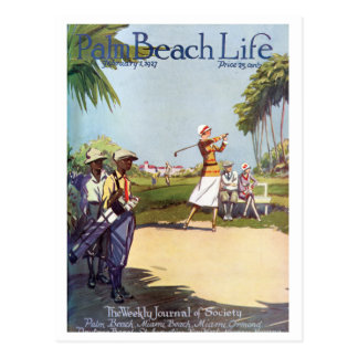 Postal de la vida 20 del Palm Beach