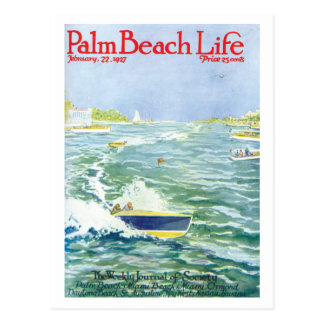 Postal de la vida #2 del Palm Beach