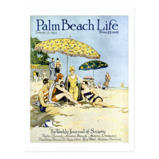 Postal de la vida 3 del Palm Beach