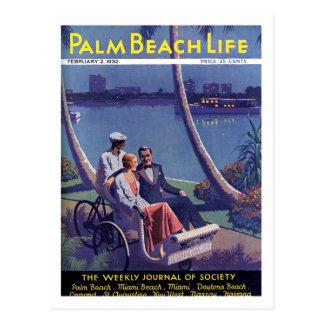 Postal de la vida #4 del Palm Beach