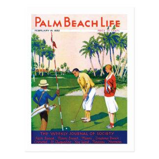 Postal de la vida #5 del Palm Beach