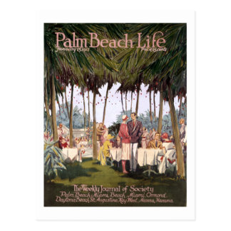 Postal de la vida 7 del Palm Beach