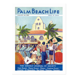 Postal de la vida #8 del Palm Beach