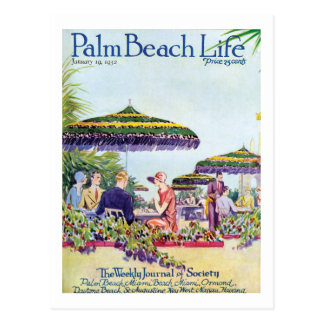 Postal de la vida 9 del Palm Beach