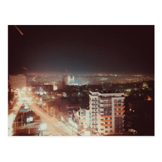 Postal de la vida de noche