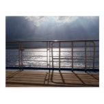 Postal de la vista al mar