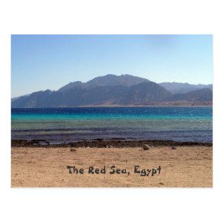 Postal de Laguna del Mar Rojo