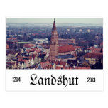 Postal de Landshut