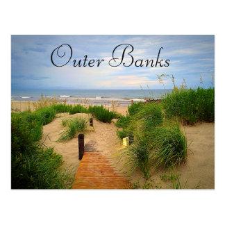 Postal de las dunas de Outer Banks
