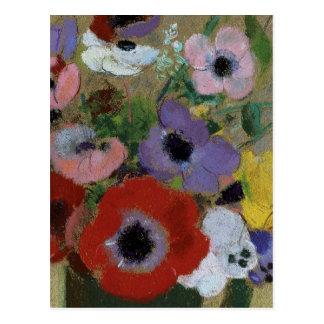 Postal de las flores CC0061