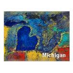 Postal de las ilustraciones de Michigan