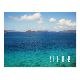 Postal de las Islas Vírgenes de St Thomas