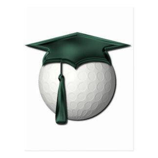 Postal de las lecciones de golf