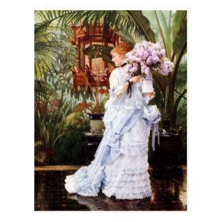 Postal de las lilas de James Tissot