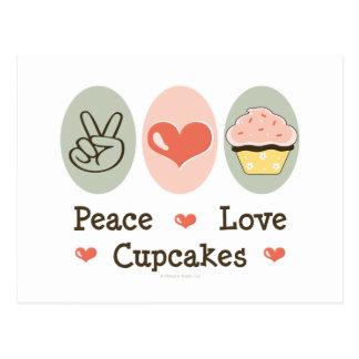 Postal de las magdalenas del amor de la paz